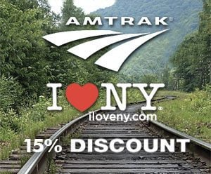 Amtrak Discounts New York By Rail