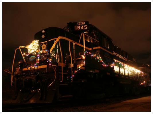 Adirondack Scenic Railway   Polar Express