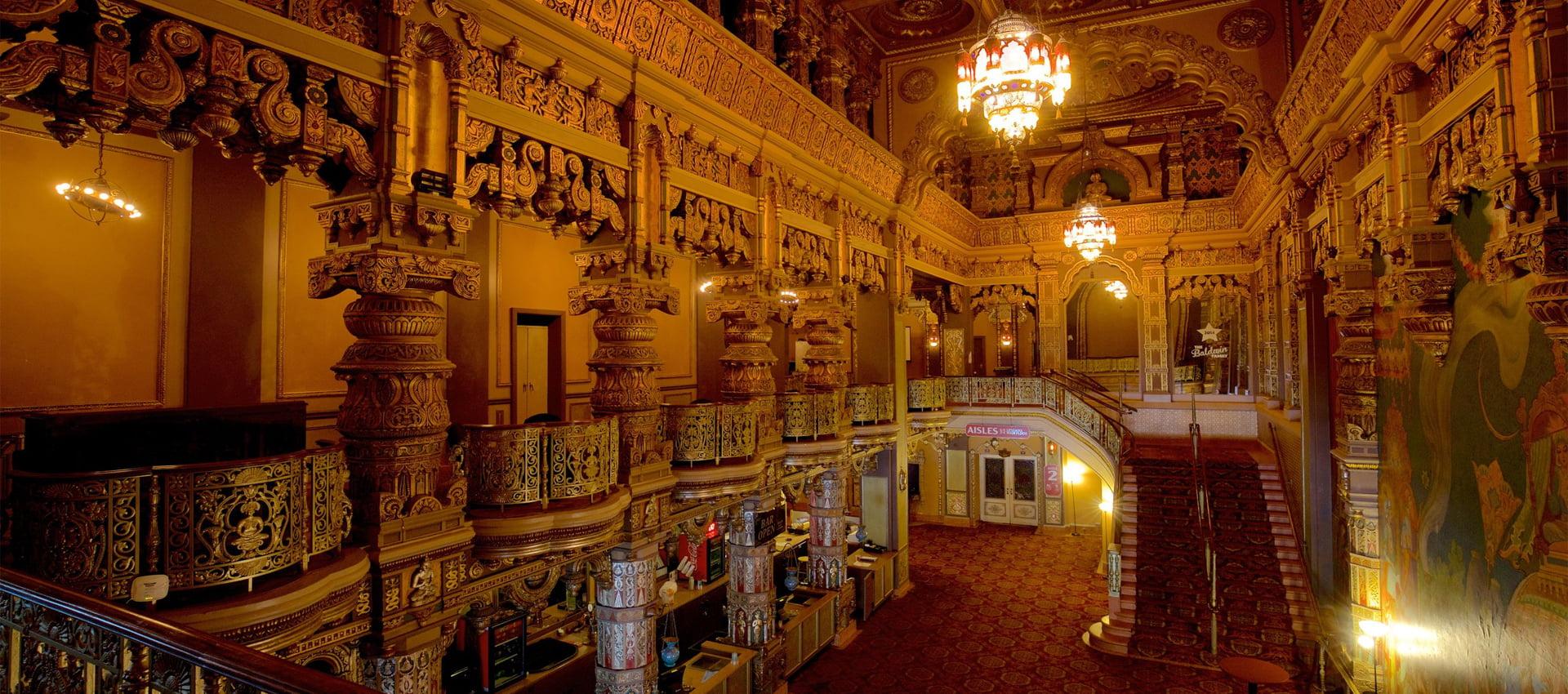 The Landmark Theatre lobby. | Photo Courtesy of Expedia