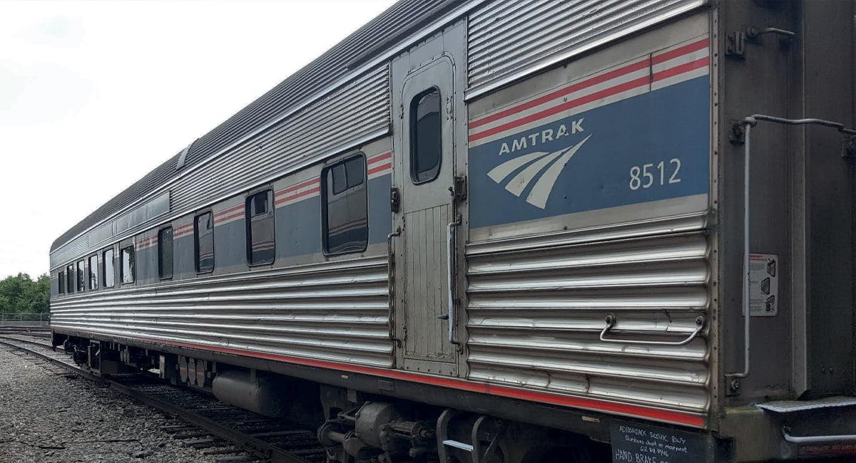 Adirondack Scenic Railroad Dining Car donated by Amtrak.