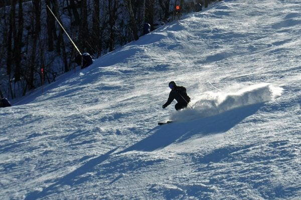 Hit the slopes at one of the largest skiable areas in the Berkshire/Taconic Mountain's. | Photo from Catamount Ski Area