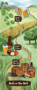 Craft Beverage Trail in New York
