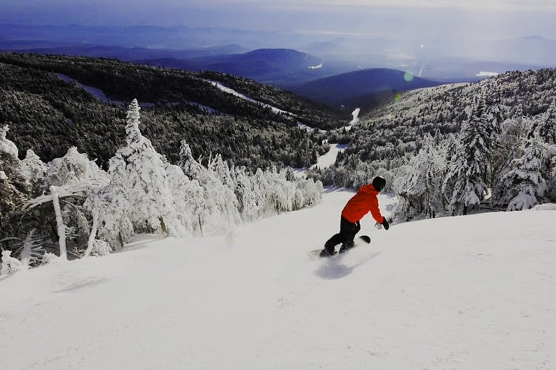 Hit the slopes at New York's largest skiable area. | Photo from Gore Mountain