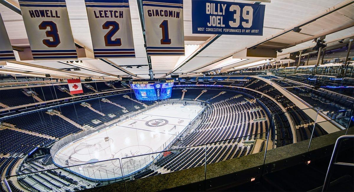 New York Rangers at Madison Square Garden