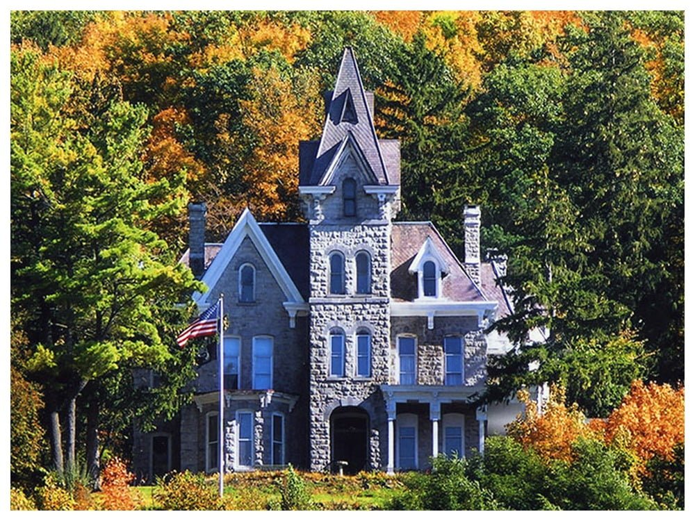 Skene Manor Adirondack Mountains New York By Rail