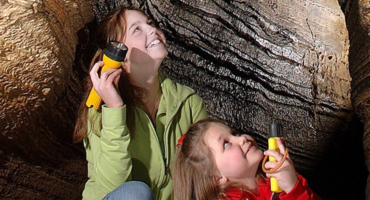 Sunday Family Flashlight Tour Package | Photo from Howe Caverns