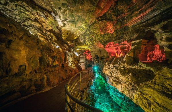 Howe Caverns | Titans Temple | Photo from Howe Caverns