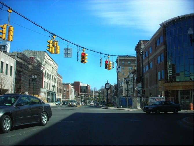 Downtown Schenectady Schenectady New York By Rail
