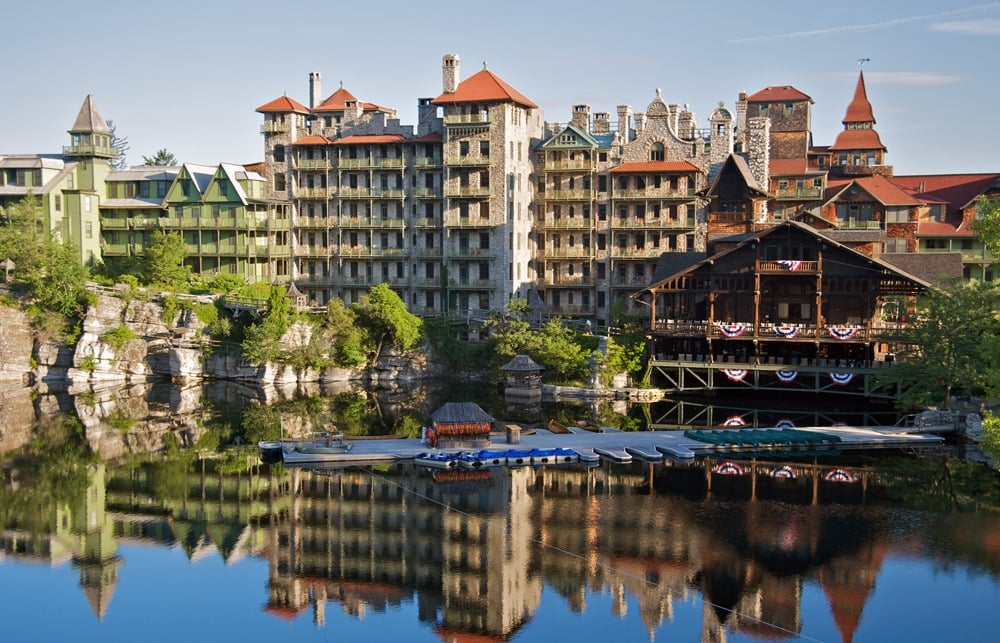 Mohonk mountain house hudson valley new york by rail for The mountain house
