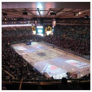 New York Rangers Madison Square Garden