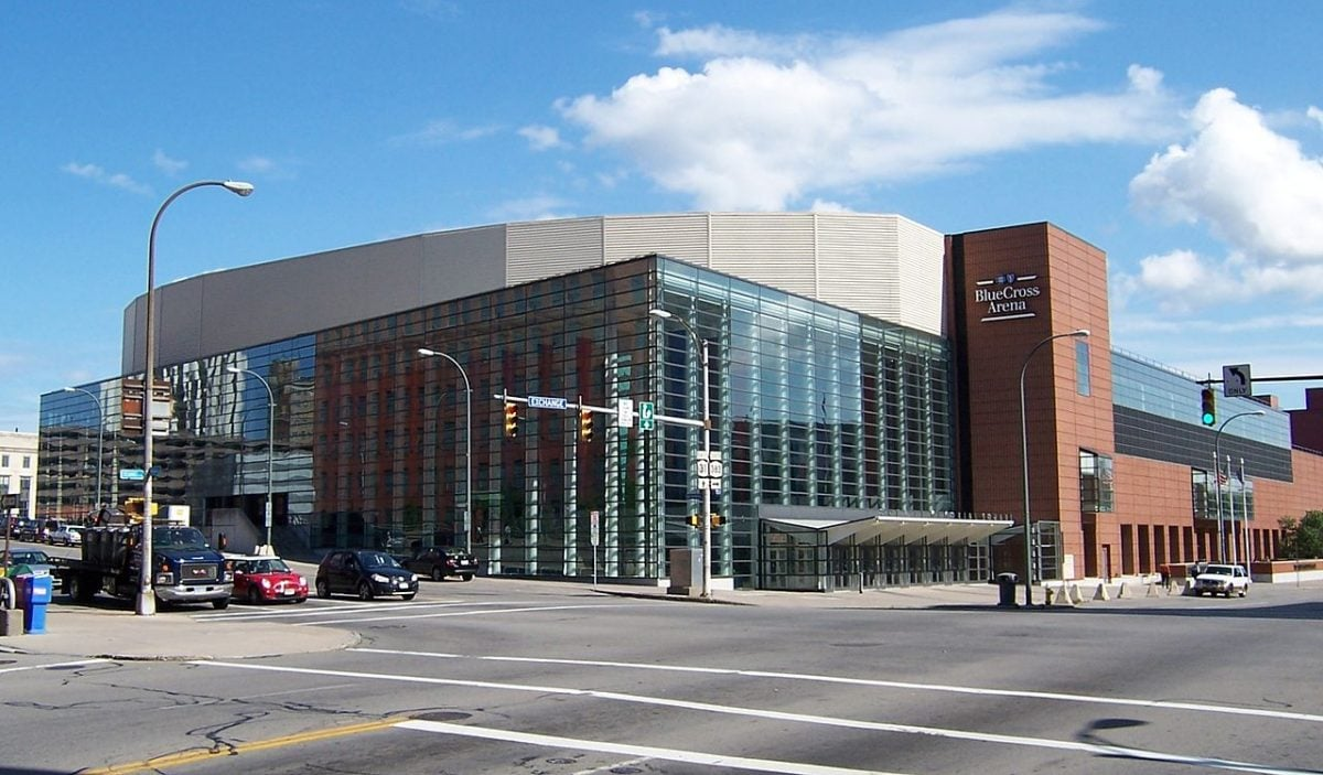 Rochester Americans at the Blue Cross Arena at the War Memorial