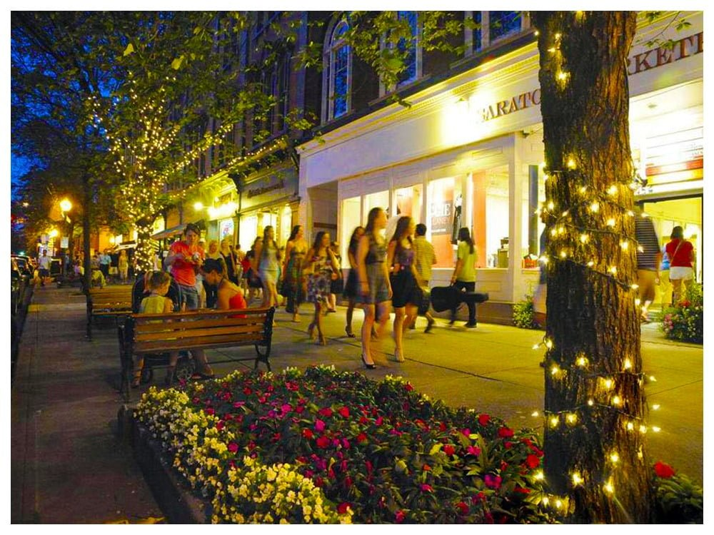 Saratoga Springs Downtown