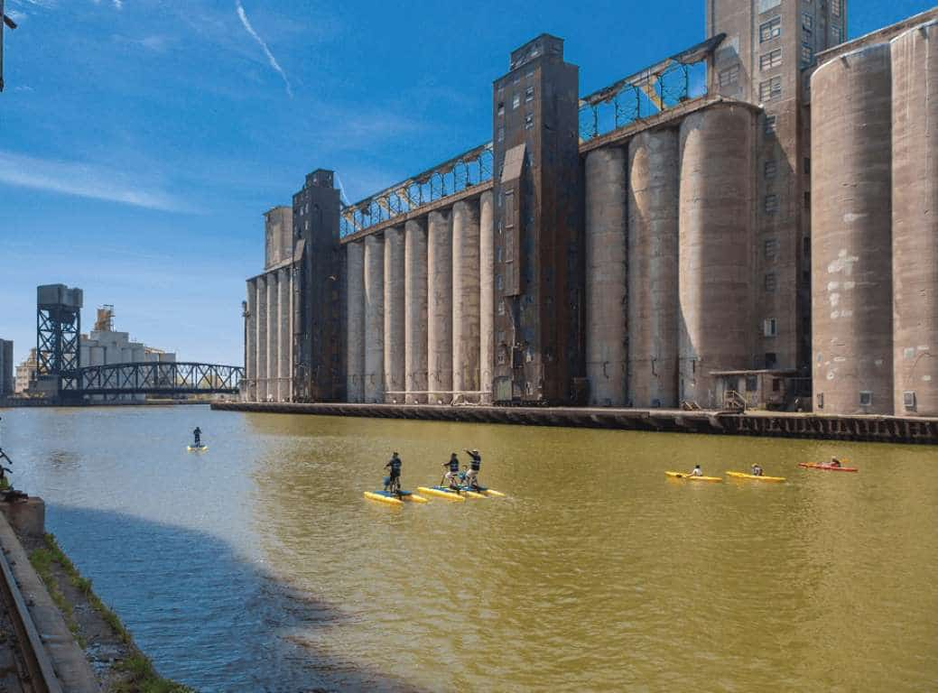 Silo City Outdoor Attractions In Buffalo New York By Rail