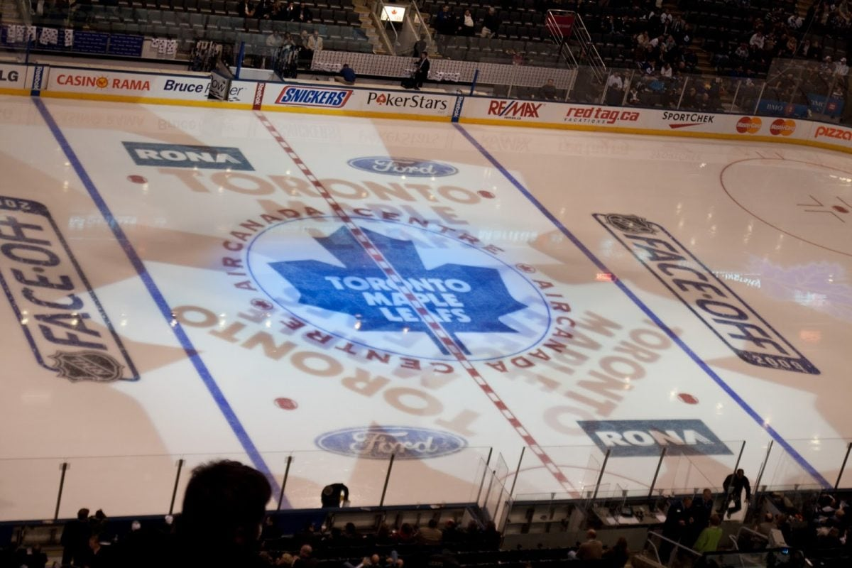 Toronto Maple Leafs at the Air Canada Centre