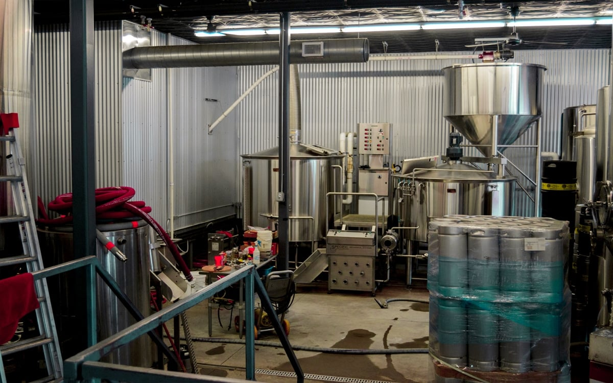 Where the magic happens! The brewing room at Chatham Brewing Co. in Columbia County. | Photo by Andrew Frey