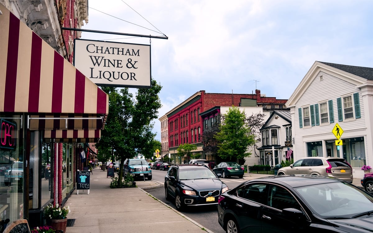 The quaint Village of Chatham in Columbia County—the perfect place for an afternoon stroll. | Photo by Andrew Frey