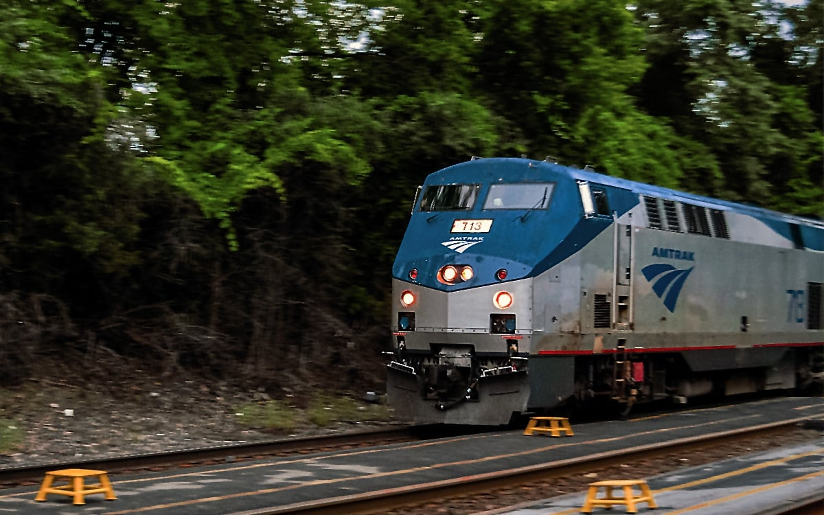 All aboard! Time to depart Columbia County and head home, back to NYC on the 64 Maple Leaf. | Photo by Andrew Frey