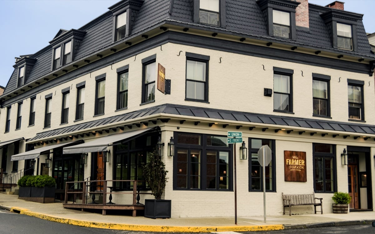 Wm Farmer & Sons is a beautiful, friendly and intimate hotel, restaurant and cocktail bar in charming, historic Hudson, NY. | Photo by Andrew Frey