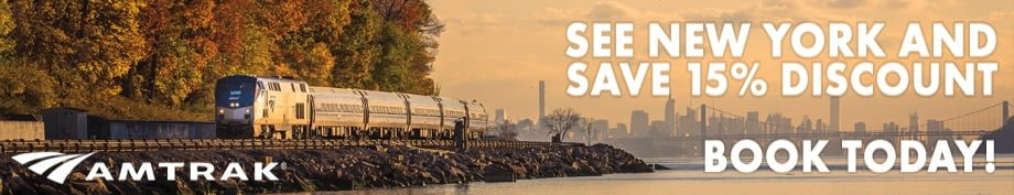 Amtrak | See New York & Save 15% Discount