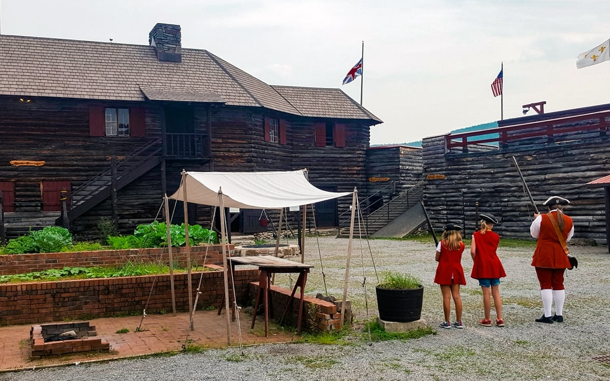 Children enlisting in the King's Army at Fort William Henry. | Photo by Salvatore Isola