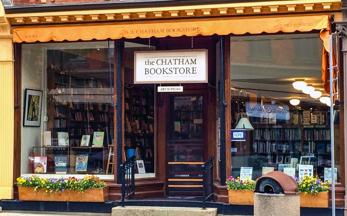 Chatham Bookstore in the heart of the Village of Chatham. | Photo by Andrew Frey