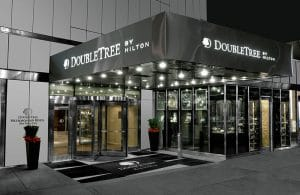 The ultra-modern DoubleTree Metropolitan on Lexington Ave. in New York City, NY. | Photo from DoubleTree by Hilton: Metropolitan - New York City