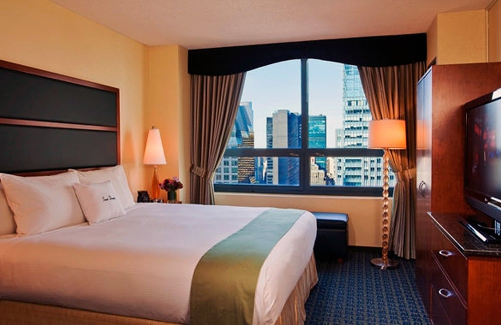 Doubletree Suites By Hilton Tsq New York City New York By Rail