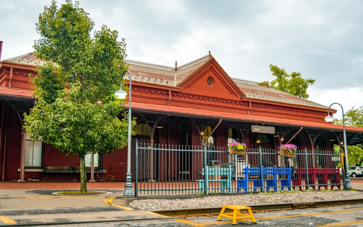 The historic Hudson Station in Columbia County. | Photo by Andrew Frey