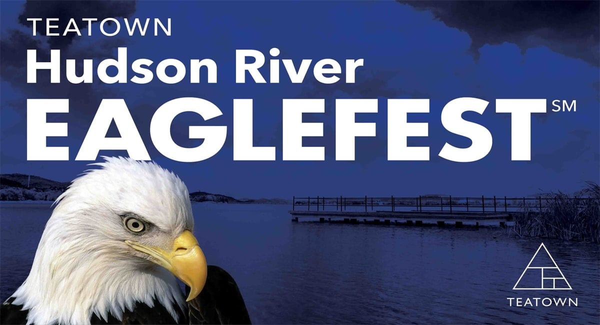 Eagle watching, guided bird walks, food trucks, family fun and more. | Photo from Teatown Hudson River EagleFest