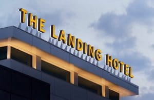 The Landing Hotel in Schenectady, NY.