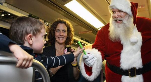 The Train to Christmas Town | Photo from SNCRR