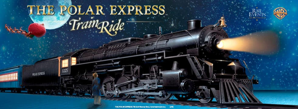 Medina Railroad Museum's Polar Express Ride | Photo from Medina Railroad Museum