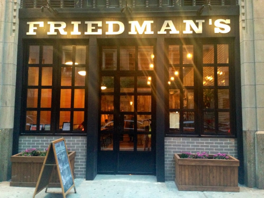 The entrance to Friedman's Mindful Eating.