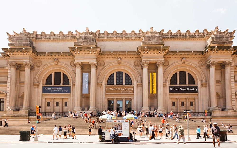Metropolitan museum of art new york city new york by rail for Metropolitan museum of art in new york