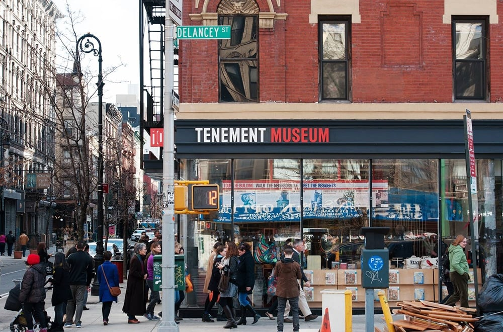 The Tenement Museum of New York in New York City, NY.
