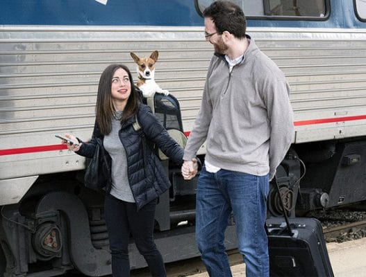 All Aboard, Fido & Fluffy | Travel with Pets on Amtrak NY | Photo from Amtrak