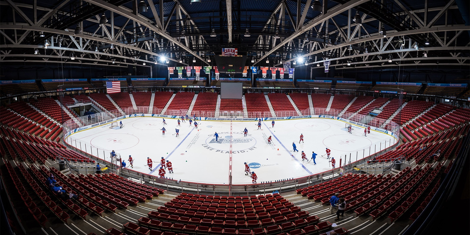 Herb Brooks Arena | Photo from Photo from White Face, Lake Placid, NY