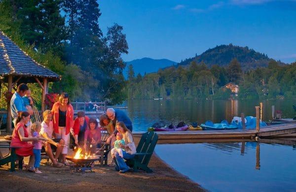 Mirror Lake | Lake Placid, NY | Adirondack Mountains