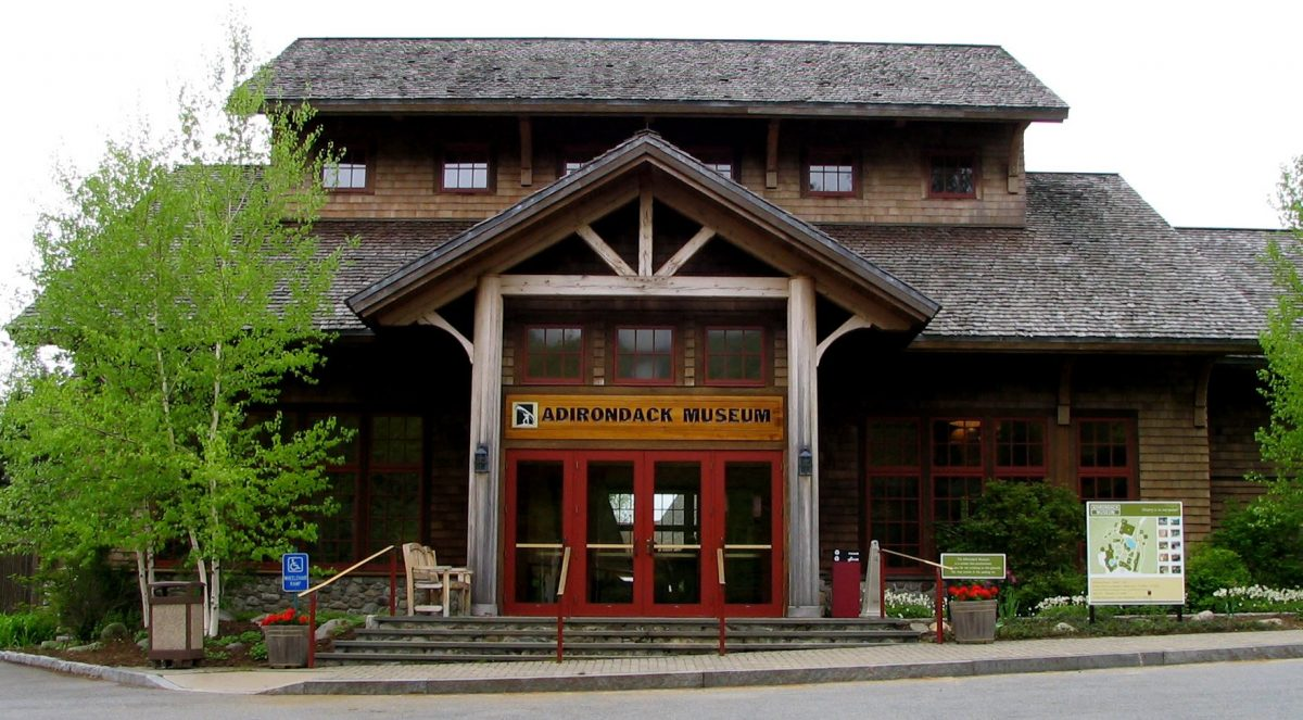 Museum on Blue Mountain Lake