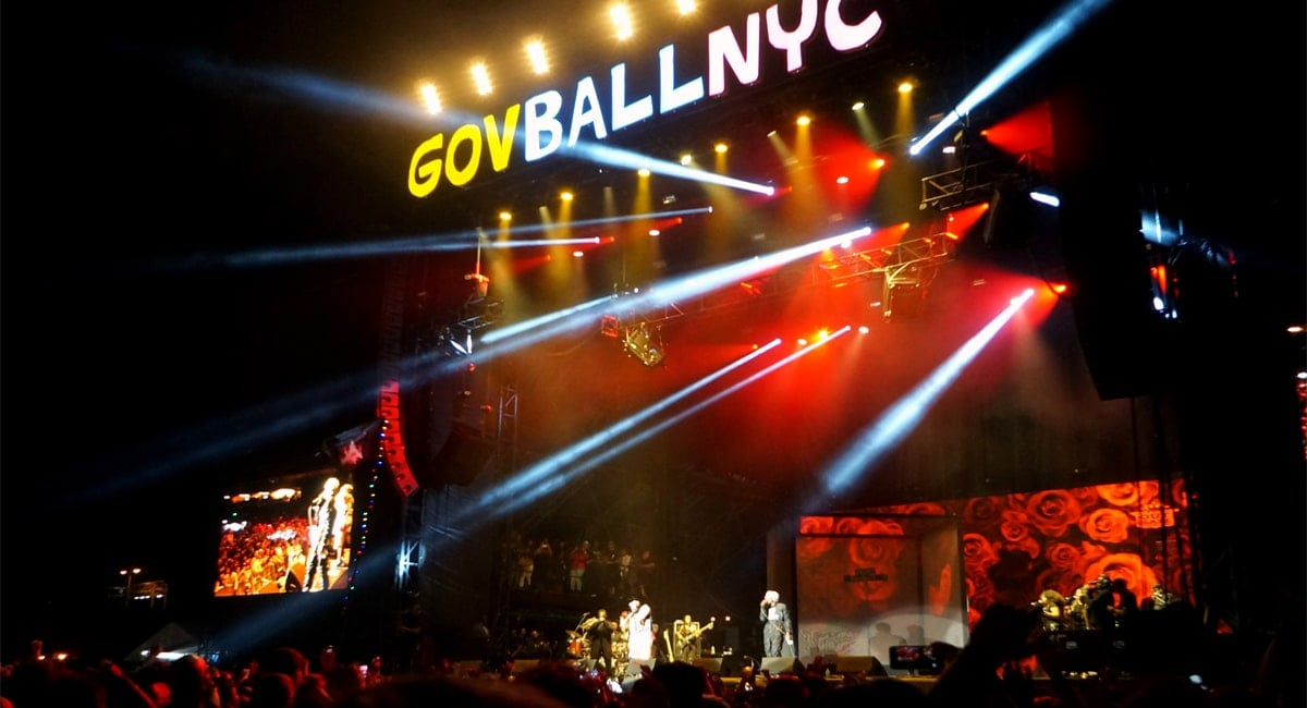 Governors Ball Music Festival Lights Up The City | Photo from Wikimedia Commons