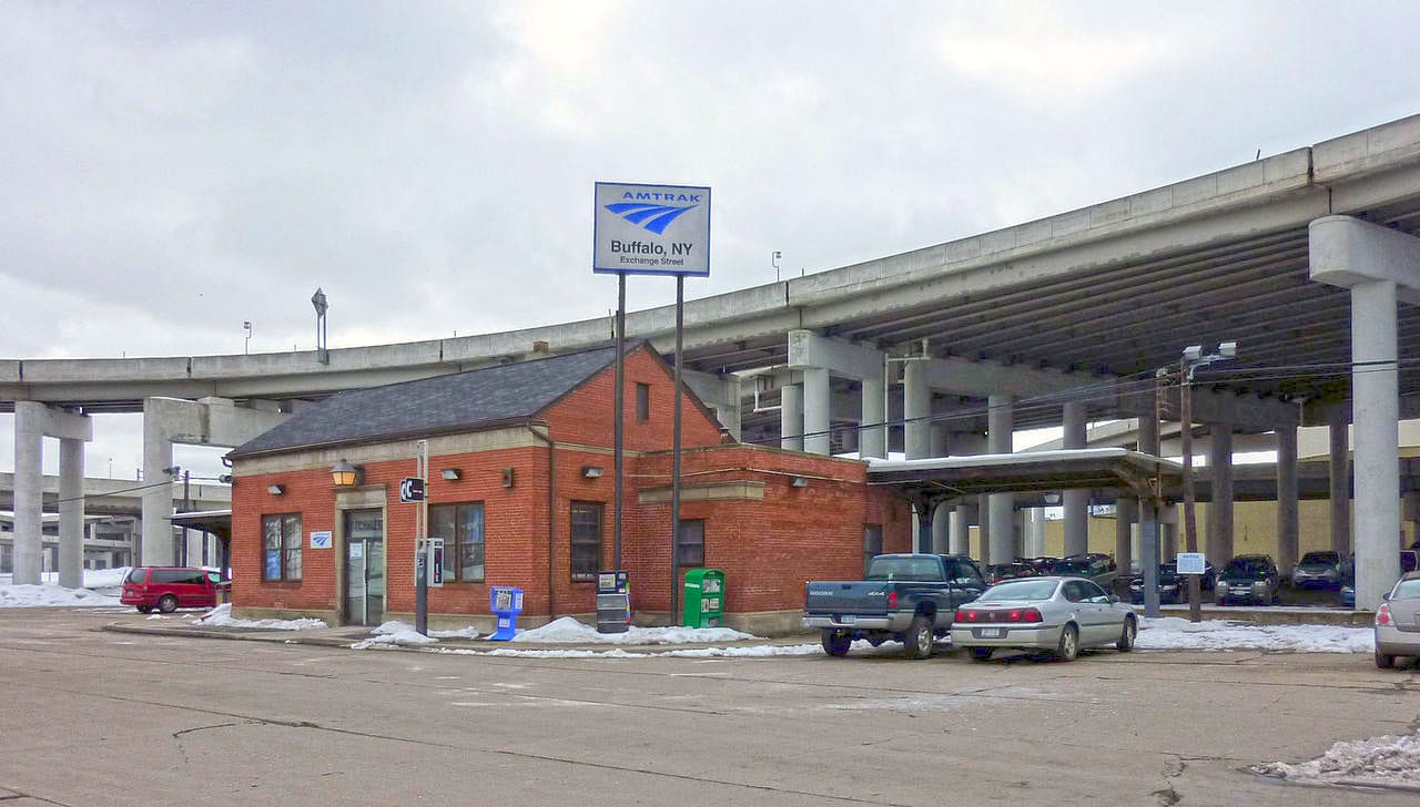 Buffalo-Exchange Street Station | BFX | New York by Rail