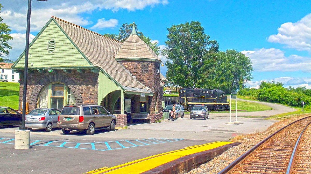 Port Henry Station | POH | New York by Rail