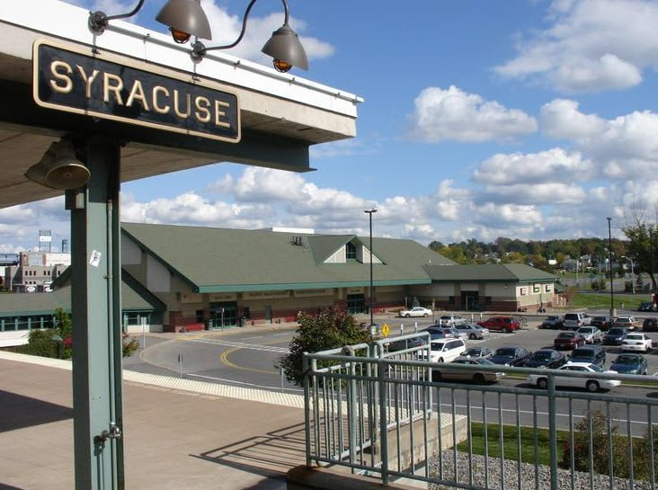 Syracuse Station Syr New York By Rail