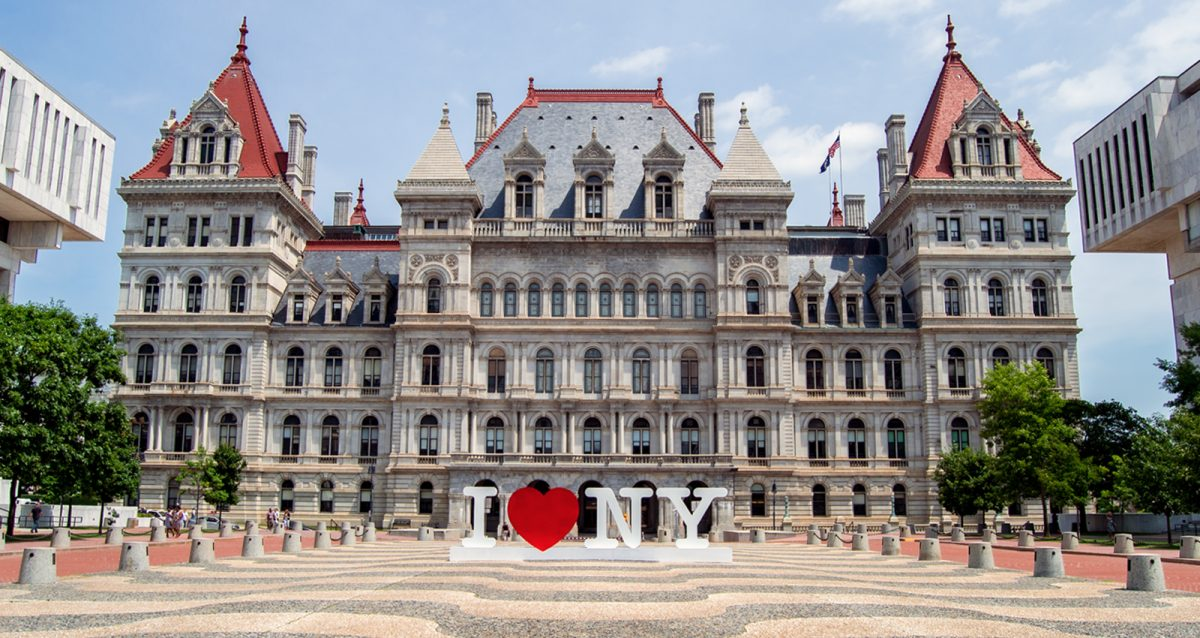New York State Capitol Building | Downtown Albany | Photo Courtesy of Andrew Frey