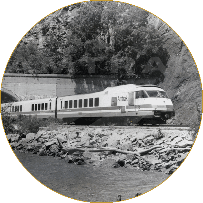 Empire Service 50th Anniversary - Courtesy of Amtrak Corporate Collection