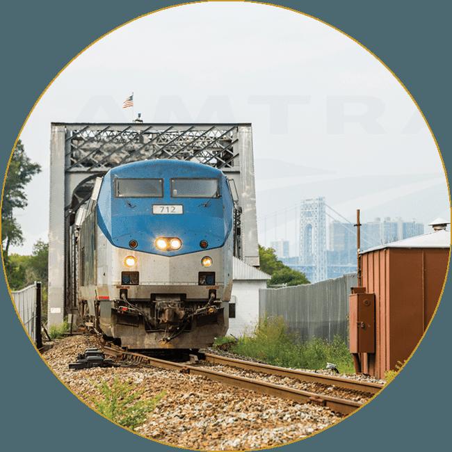 Empire Service 50th Anniversary - Courtesy of Chuck Gomez/Amtrak Corporate Collection