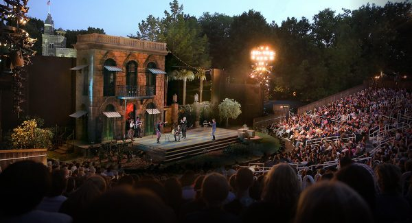 Shakespeare in the Park - Delacorte Theater