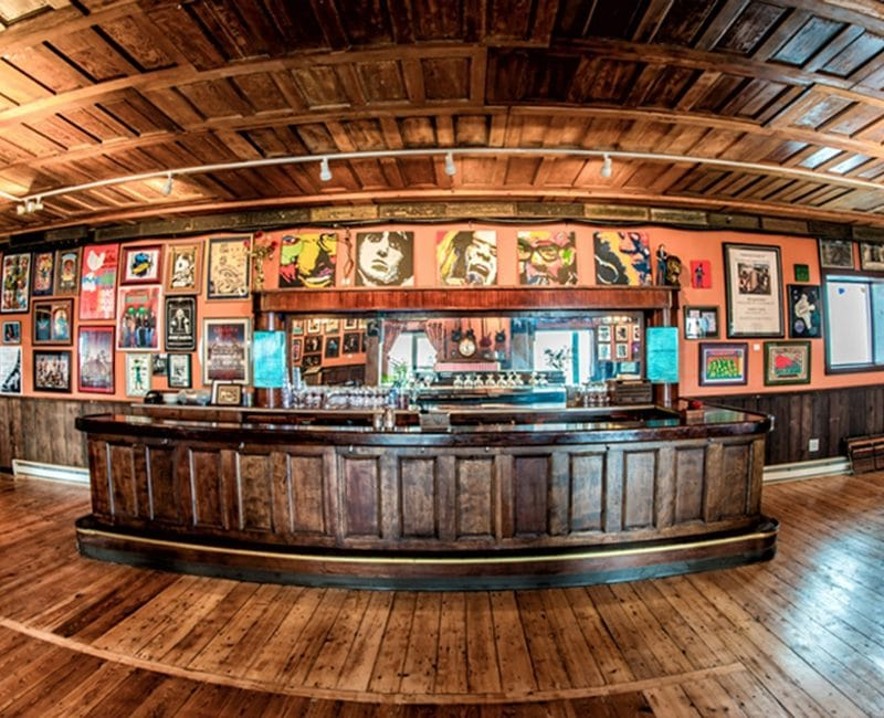 The pub beneath the club at The Falcon | Photo from Rafael Quirindongo, Hudson Valley Magazine