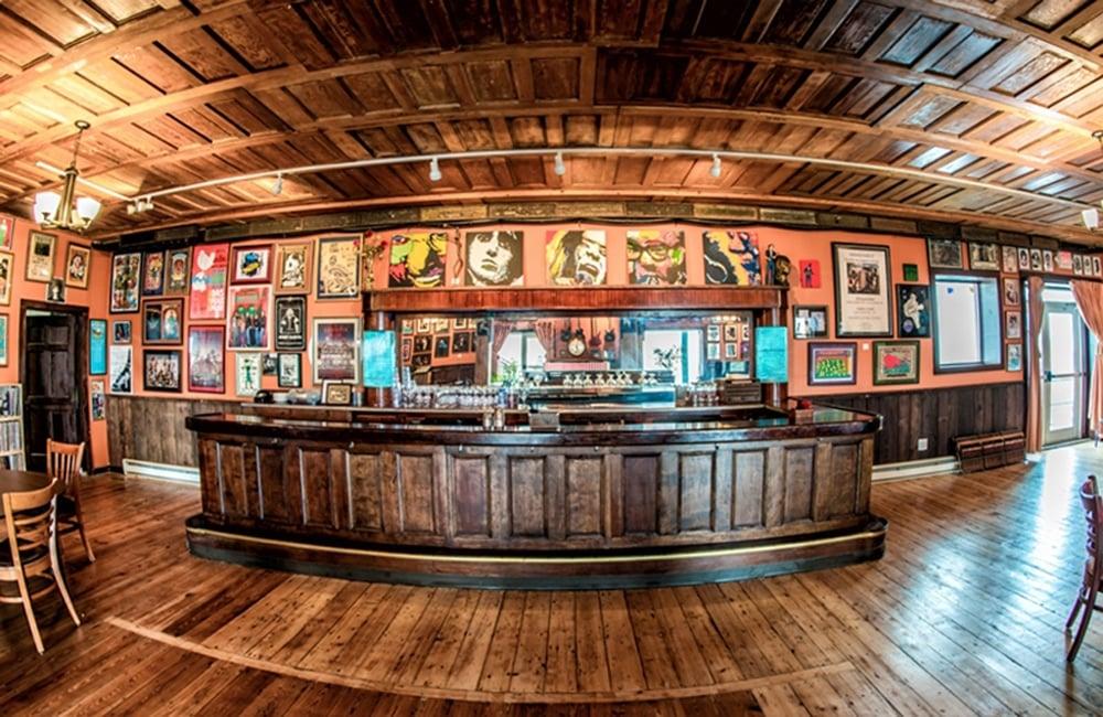 The pub beneath the club at The Falcon   Photo from Rafael Quirindongo, Hudson Valley Magazine