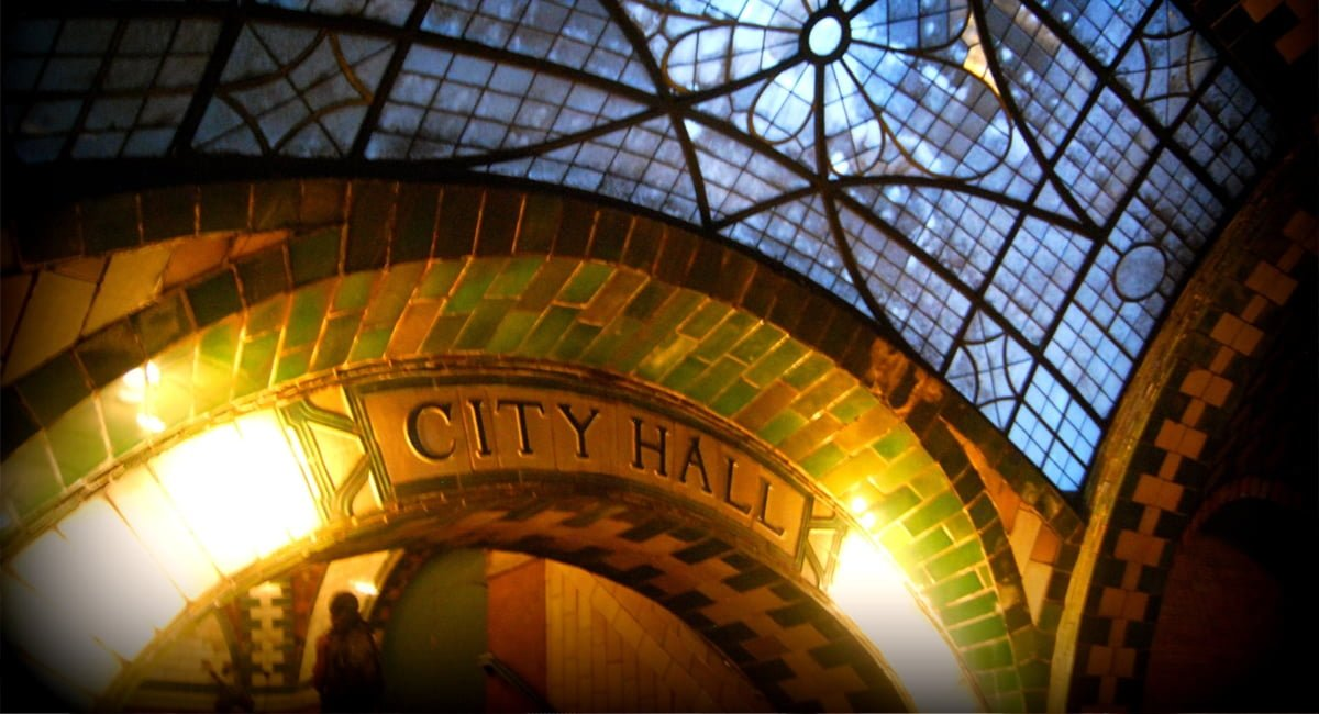 City Hall Subway Station - Paul Lowry